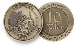 Weiler Taler Motiv Schafhausen