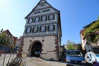 Das Merklinger Rathaus von außen