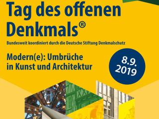 Plakat Tag des offenen Denkmals 2019