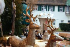 Dekoartikel auf Weihnachtsmarkt