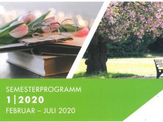 Deckblatt Programmheft Volkshochschule