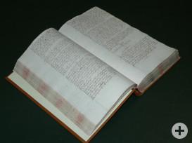 335 Jahre alt: das Ratsprotokoll aus dem Jahr 1685