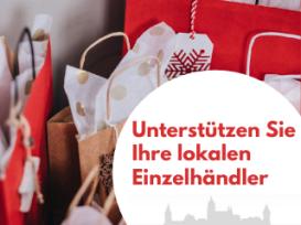 Kampagne Unterstützung Einzelhandel
