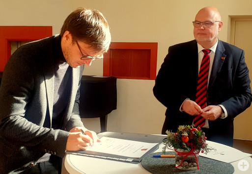 Ernennung von Bürgermeister Christian Walter