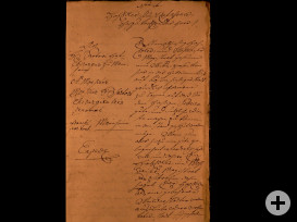 Brief Syndicus Brandt an Franz Sartor