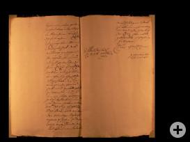 Brief Syndicus Brandt an Sartor Seite 2 und 3