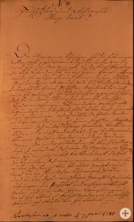 Brief Sartor an Rat Seite 4