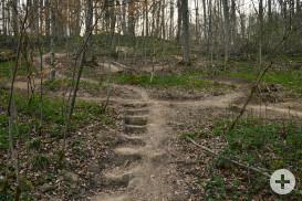 Die Downhill-Strecke wird zurückgebaut (Foto: Martin Wolf Wagner)
