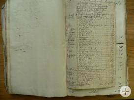 Auflistung der durch Johannes Crignis an Apotheker Öhler gelieferten Waren