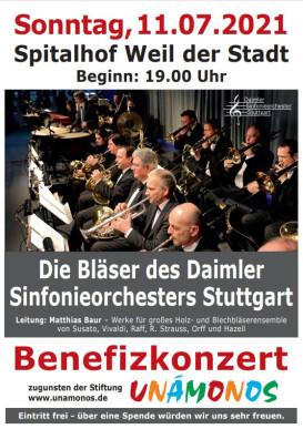 Plakat Daimler Sinfonieorchester