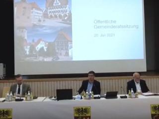Videoaufzeichnung der Gemeinderatssitzung online