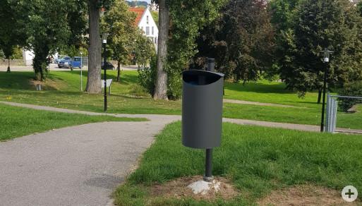Neue Mülleimer im Stadtgebiet