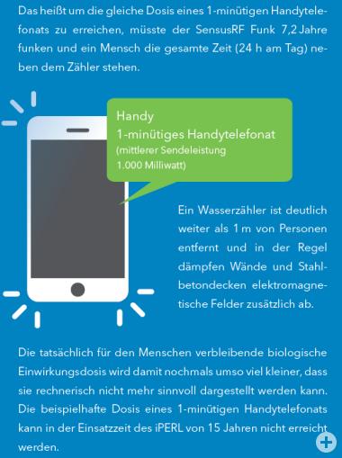 Vergleich der Sendeleistung eines Handys mit einem Wasserzähler 2